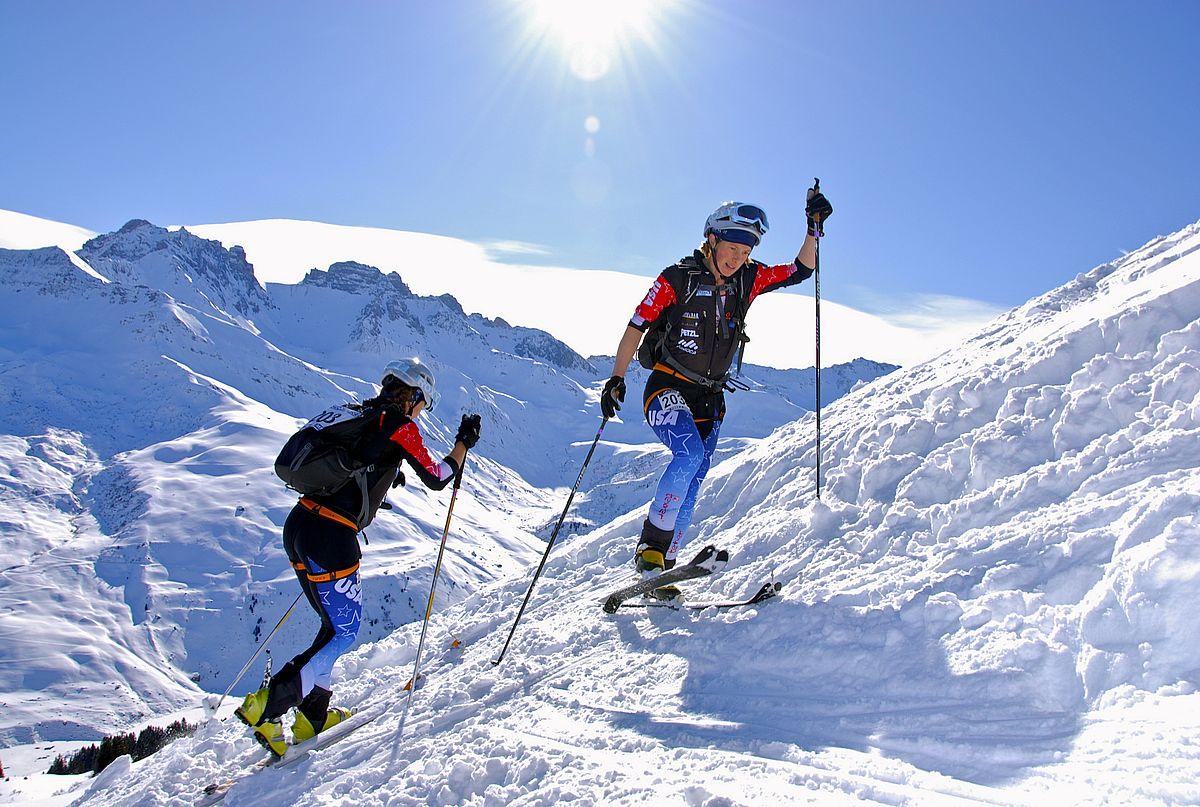 Stiluri de schi - Schi Alpinism