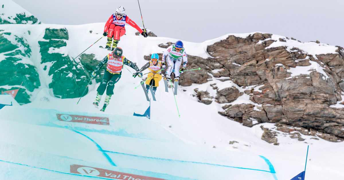 Stiluri de schi - Ski Cross